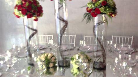 hermoso centro de mesa  boda youtube