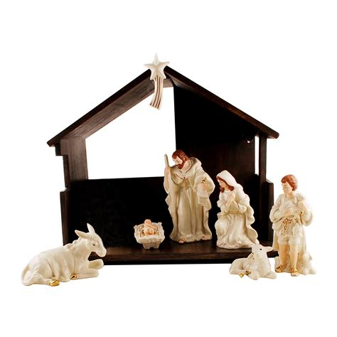 decor christmas themes nativity sets  exciting home
