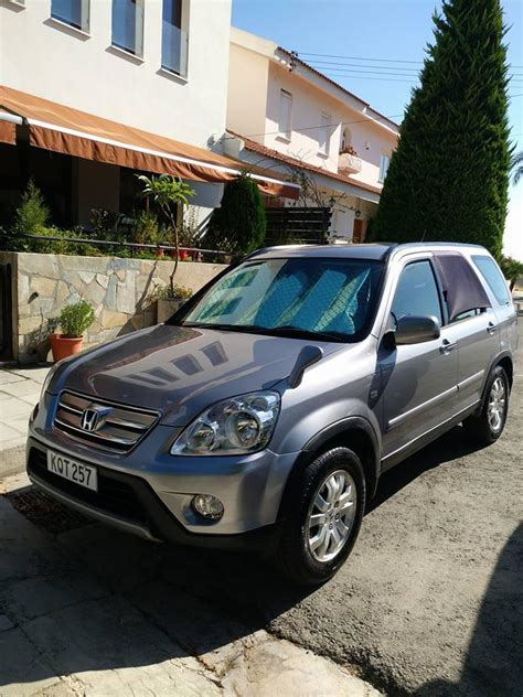 Overall, i enjoy my honda crv and would recommend it to a friend or family member. Honda CRV 2006 year for sale in Nicosia, price 6,600 ...