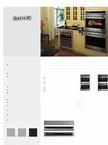 Wolf Appliance Company Range Do30u  S User Guide