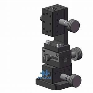 Xyz Three Axis Manual Fine Tuning Platform Dovetail Guide