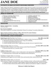 the best accounting resume 31 best images about best accounting resume templates sles on