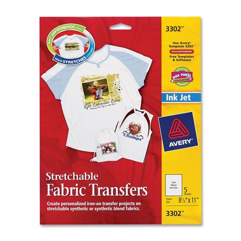avery iron  fabric transfer ld products