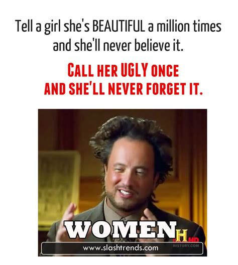 Meme Women - 17 amusing facts about women that are incredibly true