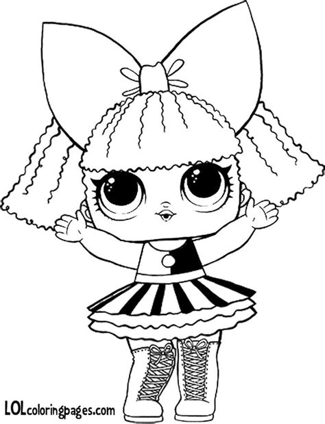 pranksta coloring page lol surprise doll coloring