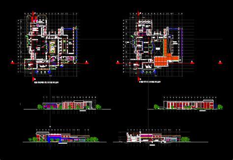 library design dwg block  autocad designs cad
