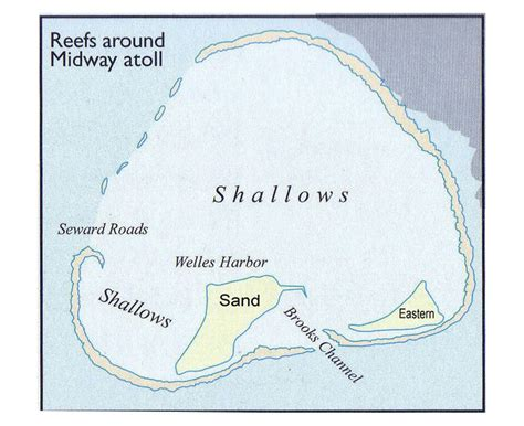 Midway Atoll Map