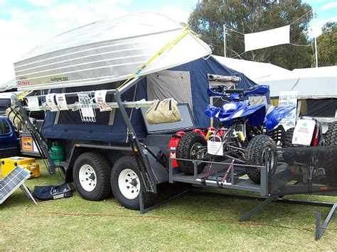 Boat T Top Weight by Trailer With Extended Drawbar For Much Weight