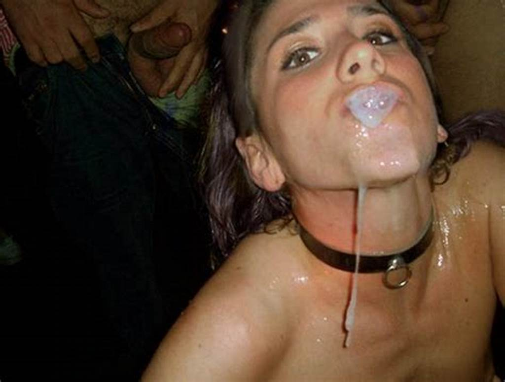 #Facial #Amateur,Cum #Bubble,Dripping,Messy,Collar,Cum