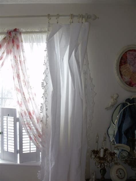shabby chic window shades beautiful shabby curtains shabby chic pinterest beautiful shabby and curtain rods