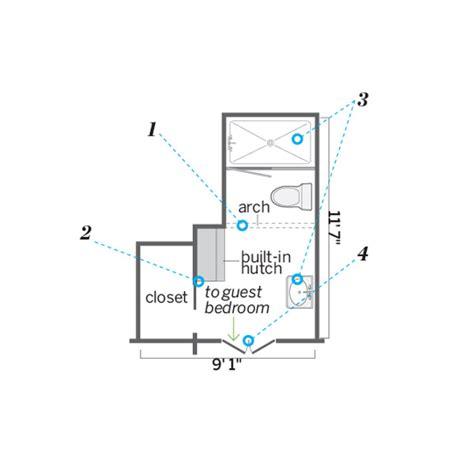 Small Narrow Bathroom Floor Plans Myideasbedroom