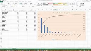 How To    Create A Pareto Chart In Excel 2013