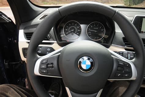 first bmw 2016 bmw x1 first drive review new turbo engine updated