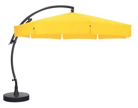 parasol d 233 port 233 sun garden easy sun classique avec volants toile olefin tournesol