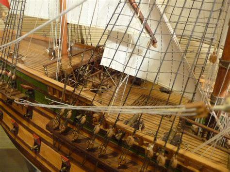 wood model ship kit  gun battleship norske love model