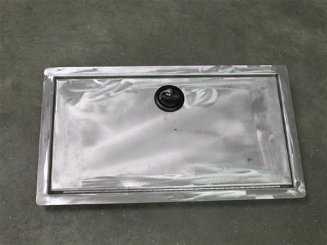 Aluminum Boat Hatch Lids hatch lids fishon fabrications