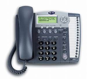 At U0026t 974 4 Line Home    Office Expandable Desk Telephone