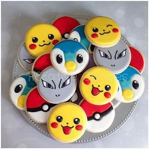 pokemon cookies decorated