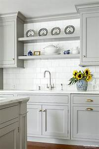 Heidi piron design and cabinetry traditional shelving for Kitchen design with no top cabinets