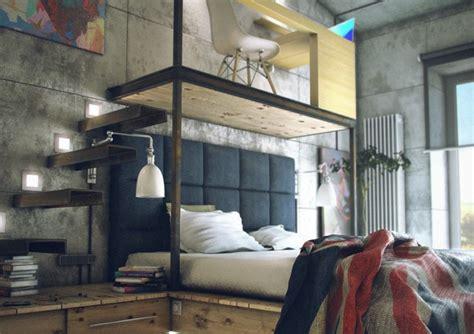 casual loft style living maxim zhukov ideasgn