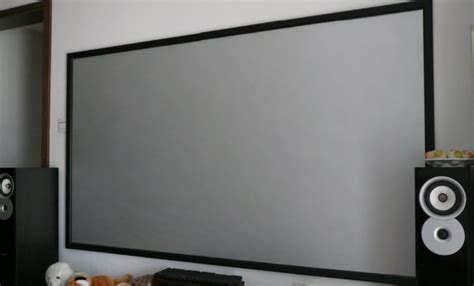 frame silver screen   hd screen  projector