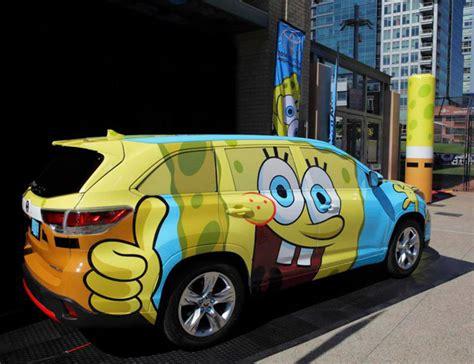 Bob Toyota by Toyota Releases Spongebob Squarepants Inspired 2014 Highlander