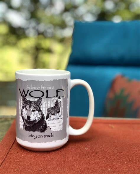 Wolf coffee selects only the highest quality arabica beans. Advice From A Wolf Coffee Mug