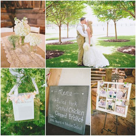 Southern Barn Wedding At Vive Le Ranch Rustic Wedding Chic