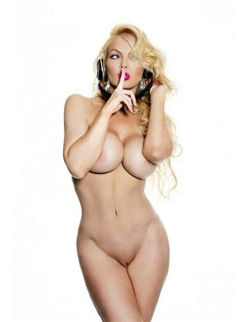 Andrea Prince Showing Bare Naked Body For Playboy Croatia