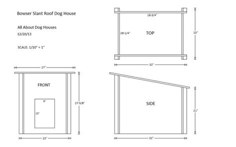 dog house plans  flat roof woodworking projects plans