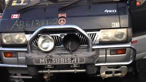 Mitsubishi Delica L300 4d56 2 5l Turbo Diesel Engine Swap