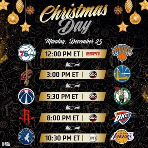 tis  season  nba  released   christmas