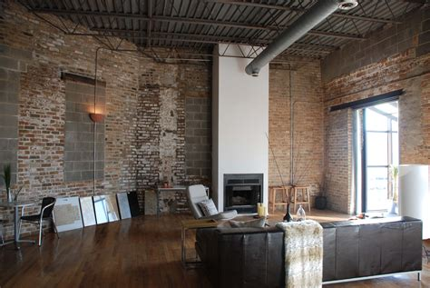 brick interior the pros and cons of living in a loft
