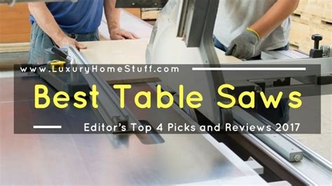 best portable table saw 2017 best table saws 2017 editor s top 4 portable jobsite