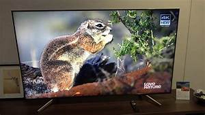 Tv 85 Zoll : xf85 bravia 4k hdr tv 2018 mit 100hz panel sony roadshow youtube ~ Watch28wear.com Haus und Dekorationen