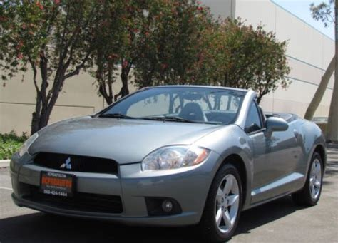 sell   mitsubishi eclipse gs spyder convertible
