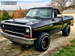 1990 Dodge W150 Vision Cannibal Stock Stock Custom Offsets