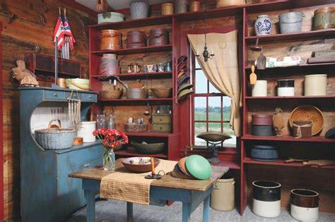primitive kitchen farmhouse decorating pinterest