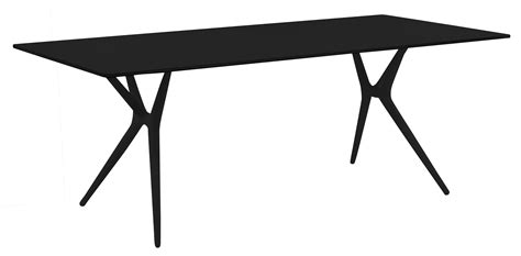 table bureau pliante table pliante spoon bureau 140 x 70 cm plateau noir