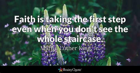 martin luther king jr faith     step