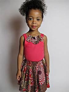 Pagné De Basket : robe de petite fille en wax ~ Teatrodelosmanantiales.com Idées de Décoration