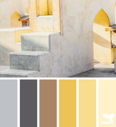 gray gold paint color design seeds yellow and color palettes on