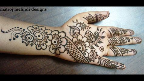 beautiful mehndi design  hands    stylish henna