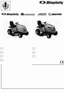 Simplicity Lawn Mower 500 User Guide