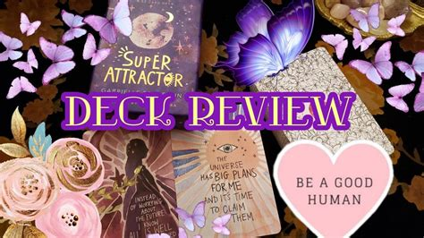 Being a super attractor means that what you believe is what you receive. 💜 🌻Super Attractor 🌻💜 || Oracle Deck Review🌞 - YouTube