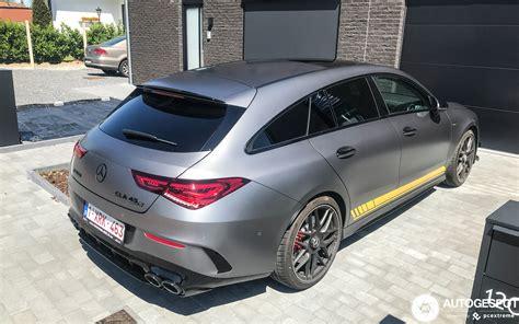 Mercedes cla shooting brake at the 2019 geneva motor show. Mercedes-AMG CLA 45 S Shooting Brake Edition 1 X118 - 13 mei 2020 - Autogespot