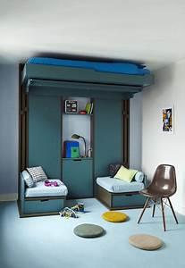 Lit Au Plafond Electrique : lit escamotable espace loggia d couvrez les solutions ~ Premium-room.com Idées de Décoration