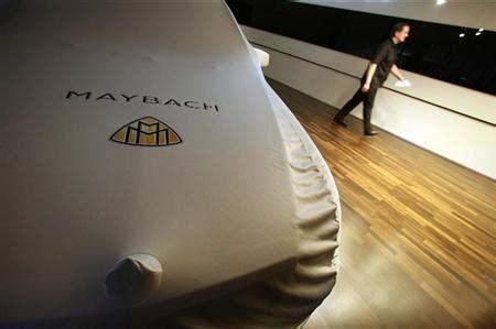 bentley woos z maybach set as luxury car brand nears
