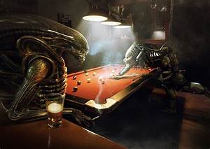 Alien Vs Predator: Pool by Xidon on DeviantArt