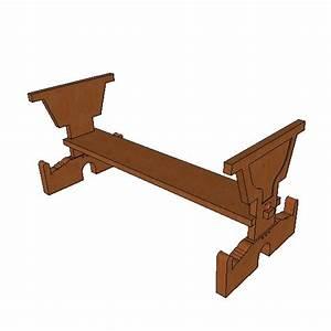Plateau Pour Table : pied de table pour plateau 4 ~ Teatrodelosmanantiales.com Idées de Décoration